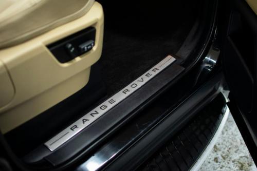 Range Rover Sport detalizēta salona ķīmiskā tīrīšana